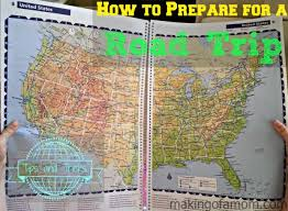 United States Road Trip Map by Guide Taking Road Trip Kids