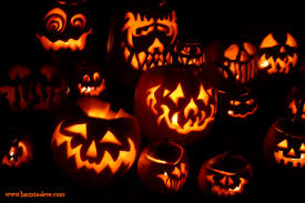 jack o lantern desktop wallpaper halloween only 100 days away