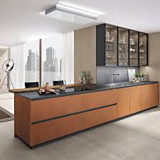 contemporary kitchen metal wooden island antis fusion