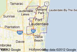 map of ft lauderdale home health care for greater fort lauderdale fl