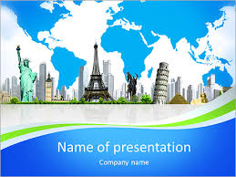 european holidays traveling background concept powerpoint