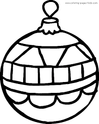 Christmas Coloring Pages Printable For Applique Christmas Tree Coloring Pages Ornaments