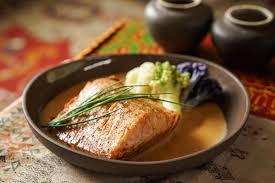 truite cuisine truite sauce crémeuse au thé chaï recette épices de cru