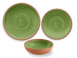 thanksgiving melamine plates tarhong rustic swirl melamine 12 piece dinnerware set service for