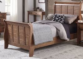 Oak Sleigh Bed Liberty S Cabin Aged Oak Sleigh Bed Grandpas