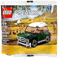 mini cooper polybag amazon com creator mini cooper 40109 toys games
