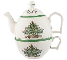 spode tree tea for one teapot cup set page 1 qvc