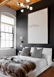 Chambre Mur Et Noir Comment Utiliser Le Noir Sur Les Murs Visitedeco