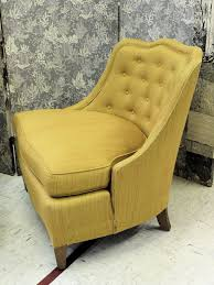 Armless Slipper Chair Luxurious Pair Of 1940s Henredon Slipper Chairs At 1stdibs