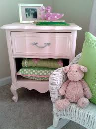 Pink Changing Table by Pink Side Table Makeover 02 Campclem