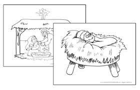 christmas bible coloring pages