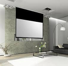 distance ecran videoprojecteur canapé le rayon écrans de projection électriques