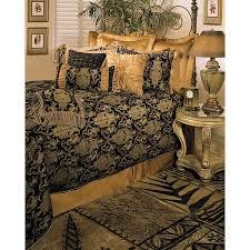 California King Black Comforter Sherry Kline China Art Black Cal King Size 6 Piece Comforter Set