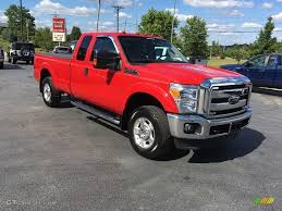 2014 vermillion red ford f250 super duty xlt supercab 4x4
