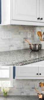 Home Depot Backsplash For Kitchen Create An Statement With A White Brick Wall Kitchen