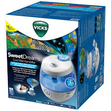 Best Humidifier For Kids Room by Vicks Sweet Dreams Cool Mist Ultrasonic Humidifier Blue Toys