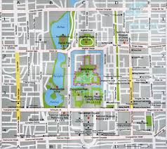 Mta Map Subway Tourist Map Of Beijing City Center Forbidden City U0026 Tiananmen