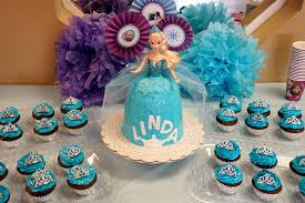queen elsa frozen birthday cake baking fairy