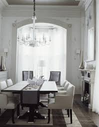 Chic Dining Tables Dining Rooms Lucite Acrylic Modern Chandelier Black Dining Table