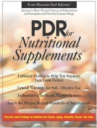 Physician S Desk Reference Pdr For Nutritional Supplements Physicians U0027 Desk Reference For