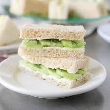 english tea sandwiches food fanatic