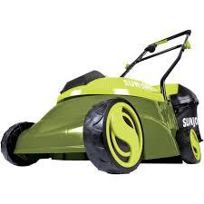 sun joe mj401c cordless lawn mower 14 inch 28v walmart com