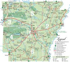 Tennessee State Parks Map by Arkansas Map