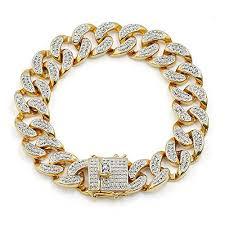 cuban chain bracelet images Miami cuban chain bracelet 8 quot stndrdz jpg