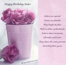 sister birthday cards for facebook happy birthday wishes sister