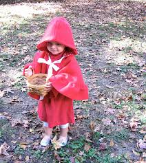 the modest homestead little red riding hood costume tutorial