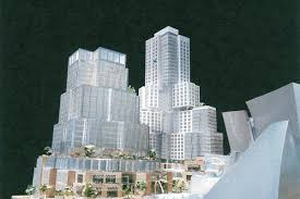 grand avenue project renderings for frank gehry u0027s bunker hill