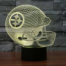 nfl pittsburgh steelers 3d led light lamp pittsburgh steelers