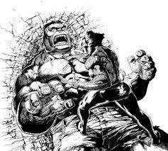 wolverine vs hulk revisited again