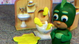 pj masks play doh episodes romeos toilet gun owlette gekko