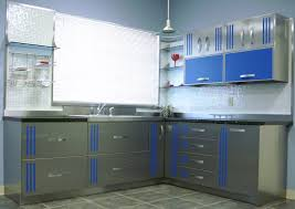 Powder Coating Kitchen Cabinets Stainless Steel Counter Tops Door Styles U0026 Accessories Steelkitchen