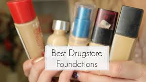 best drugstore foundations for oily skin dramaticmac youtube