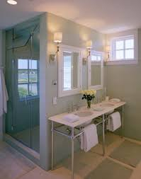beauty cottage style bathroom designs with stainless steel vanity