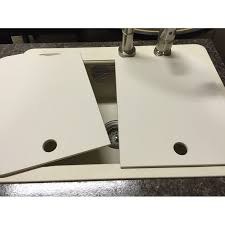 Kitchen Sink Covers 18 X 24 Sink Covers Creme American Stonecast Products Inc