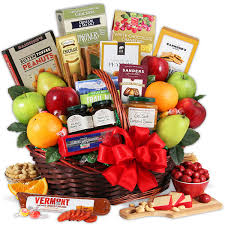 fruit baskets bountiful harvest fruit gift basket by gourmetgiftbaskets