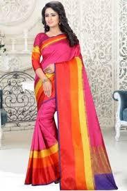 Buy Violet Embroidered Art Silk Stylish Green Art Silk Saree With Art Silk Blouse Dmv11792