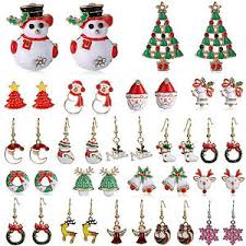 christmas earrings ney fashion jewelry christmas earrings women drop dangle earrings