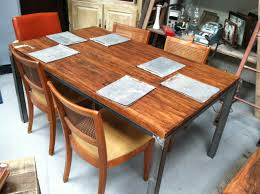 wood block dining table dining room butcher block dining table have img butcher block