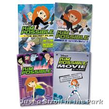 kim possible kim possible disney tv series complete volumes 1 2 movies box