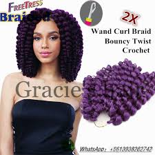 wand curl styles for short hair attractive freetress ringlet wand curl 2x synthetic braiding hair