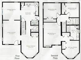 4 bedroom 2 story house plans fancy 9 2 story 4 bedroom house plans two homeca