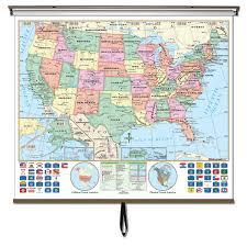united states globe map globe us world classroom wall map set ships free