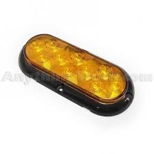 pro led 623yst 6 oval led strobe light surface mounted