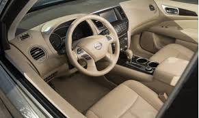 2007 Nissan Pathfinder Interior 2017 Nissan Pathfinder Vs 2017 Toyota Highlander Compare Cars