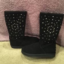 ugg s boots black 22 ugg boots black ugg rockstar boots from s closet on