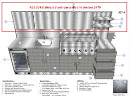 Stainless Steel Kitchen Bench Stainless Steel Benchtops Clic Schmick Alfresco Outdoor Kitchen Setup With Barbecue Sink And